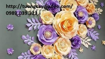 Hoa Giấy giả Handmade Đẹp Như Thật